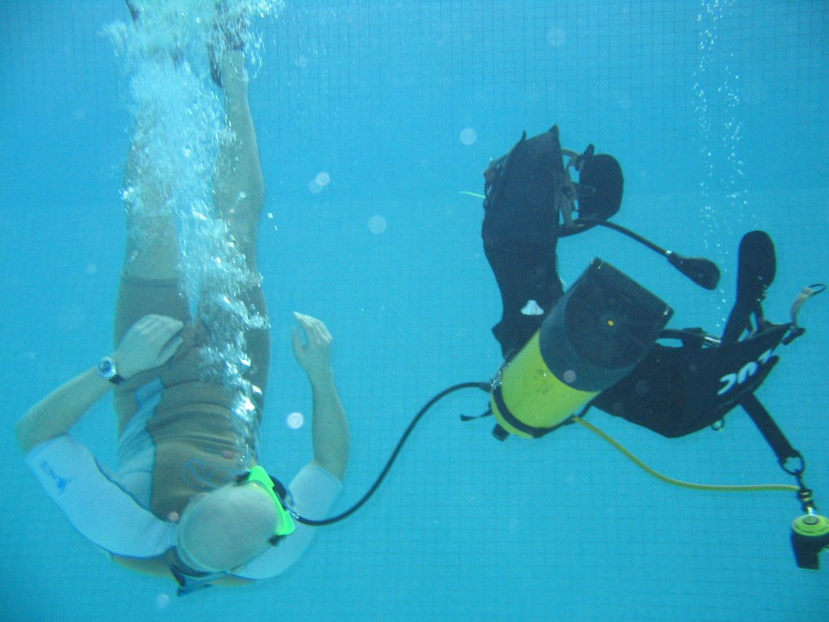 Le Club de plongée d'Airbus Opérations, le CASA ouvre son site